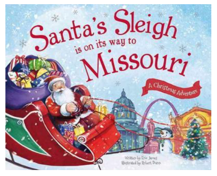Santa's Sleigh is on its Way Book
