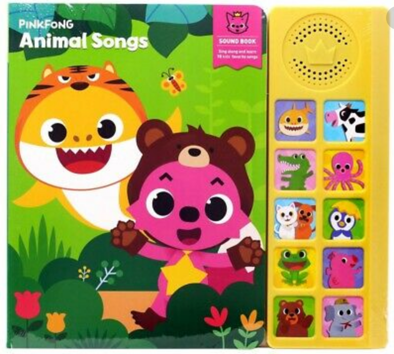 Pinkfong Interactive Sound Book