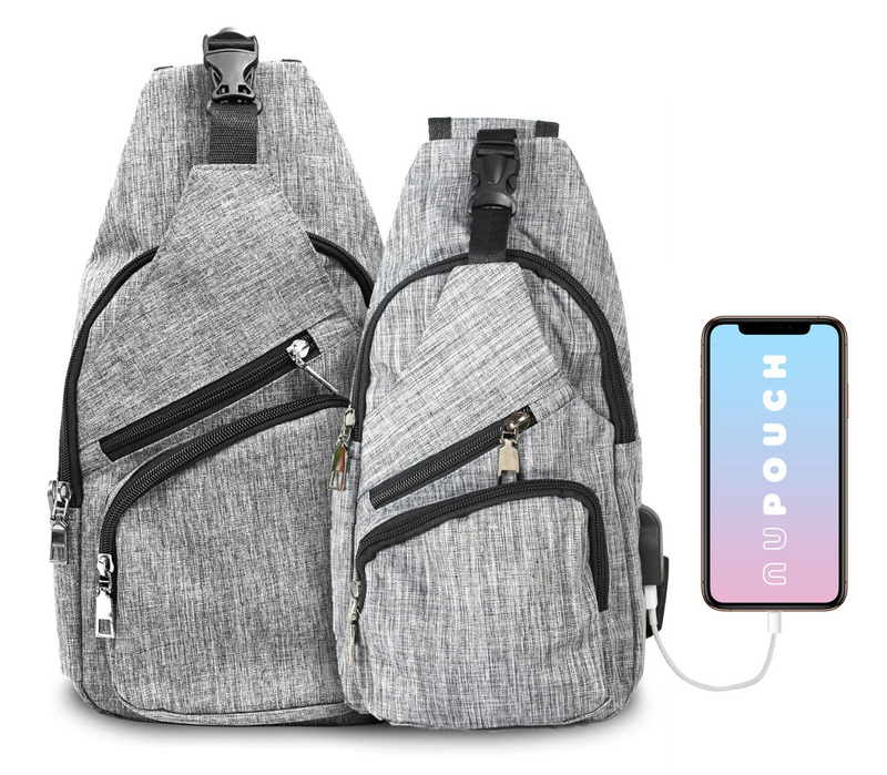 Nupouch Anti-Theft Day Pack - LARGE