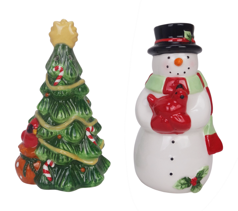 Holiday Salt and Pepper Shakers
