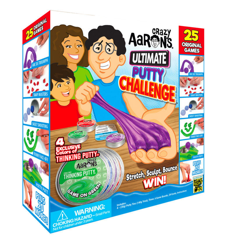 Crazy Aaron's Ultimate Putty Challenge