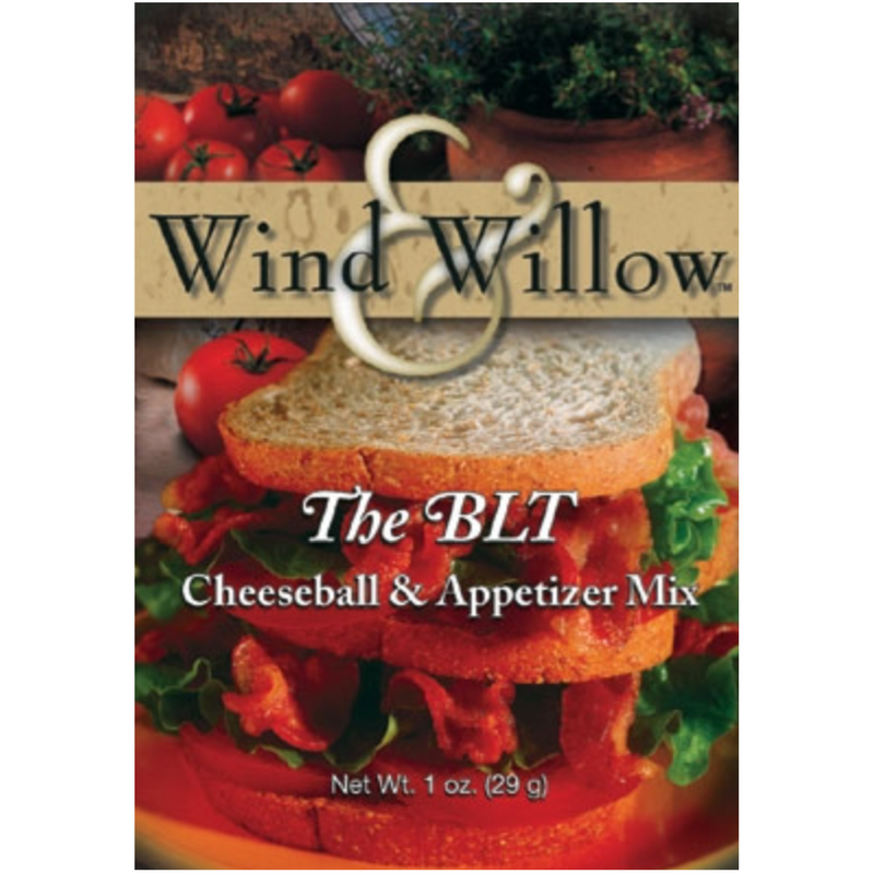 Wind & Willow The BLT Cheeseball & Appetizer Mix