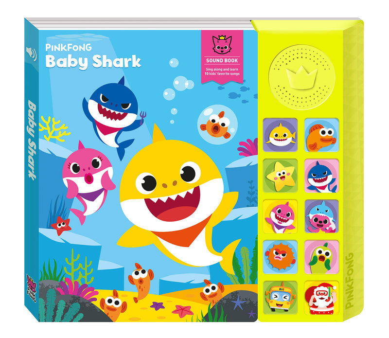 Baby Shark Interactive Sound Book PinkFong