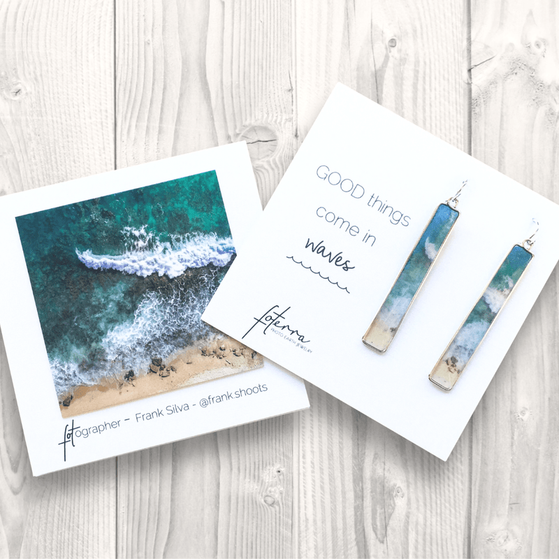Foterra Earrings - Good Things Come in Waves