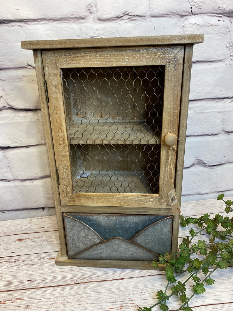 Smoky Cabin Wall Cabinet
