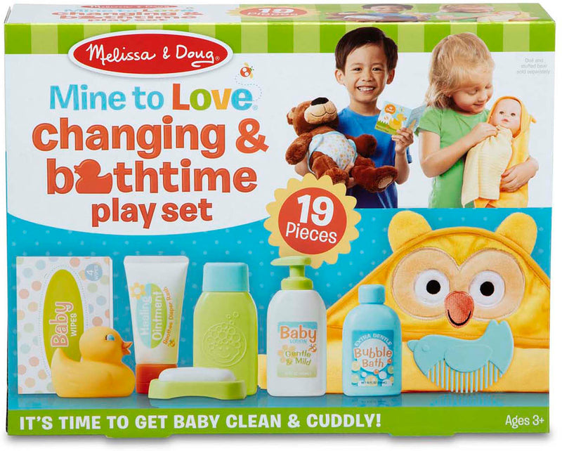 Mine to Love - Changing and Bathtime Play Set