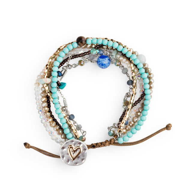 Your Journey Heart Bracelet