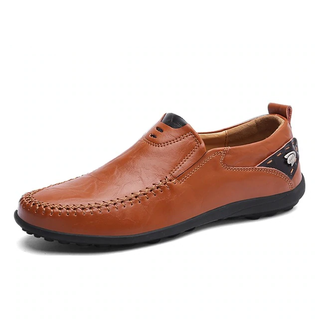 High-Class Genuine Men's Loafers Shoes
