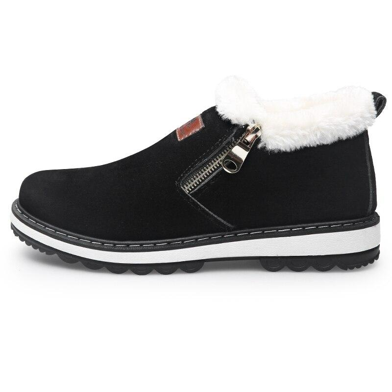 100% Men's Warm Fux Winter Boots