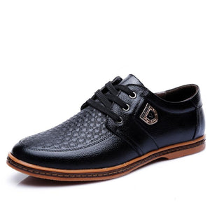 New Leather Men's Moccasins Shoes