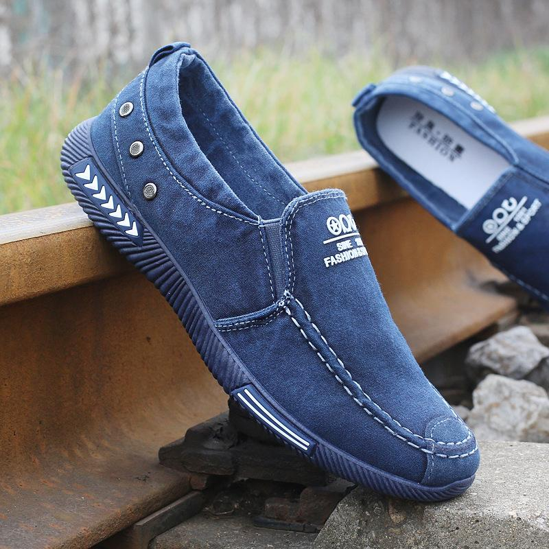 Denim Breathable Loafer Shoes