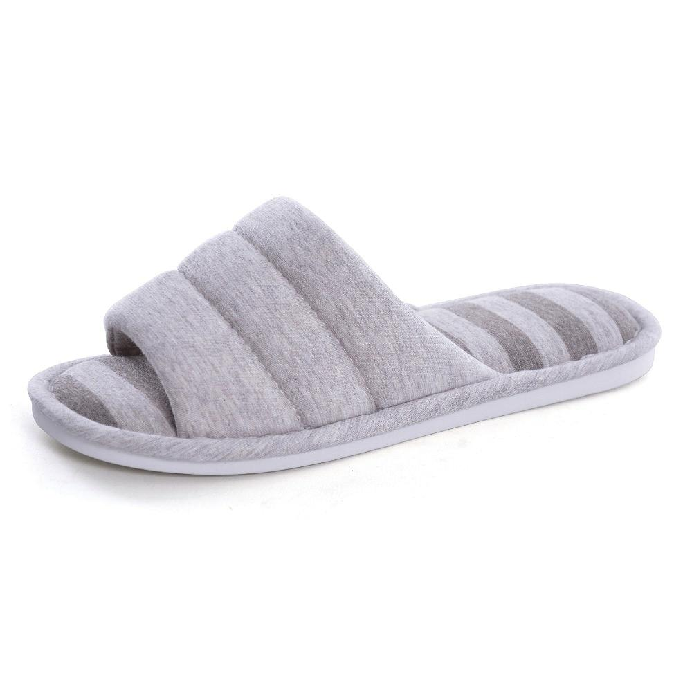Men House Slippers Indoors Slip On