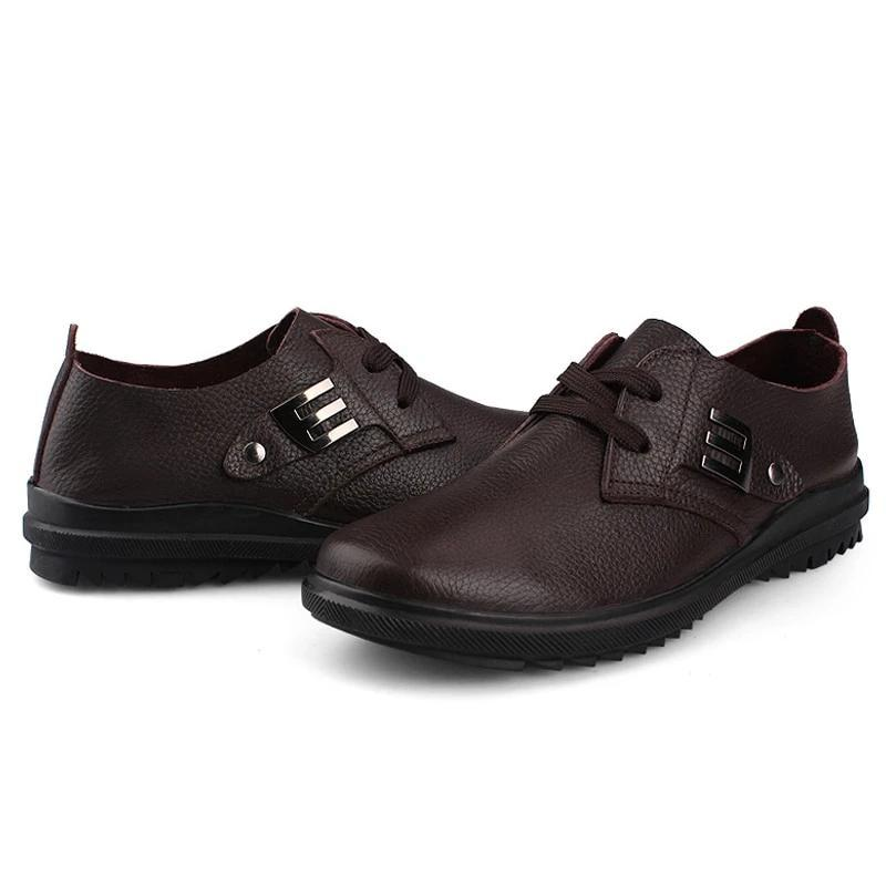Men's Oxfords Casual Leather  Shoes