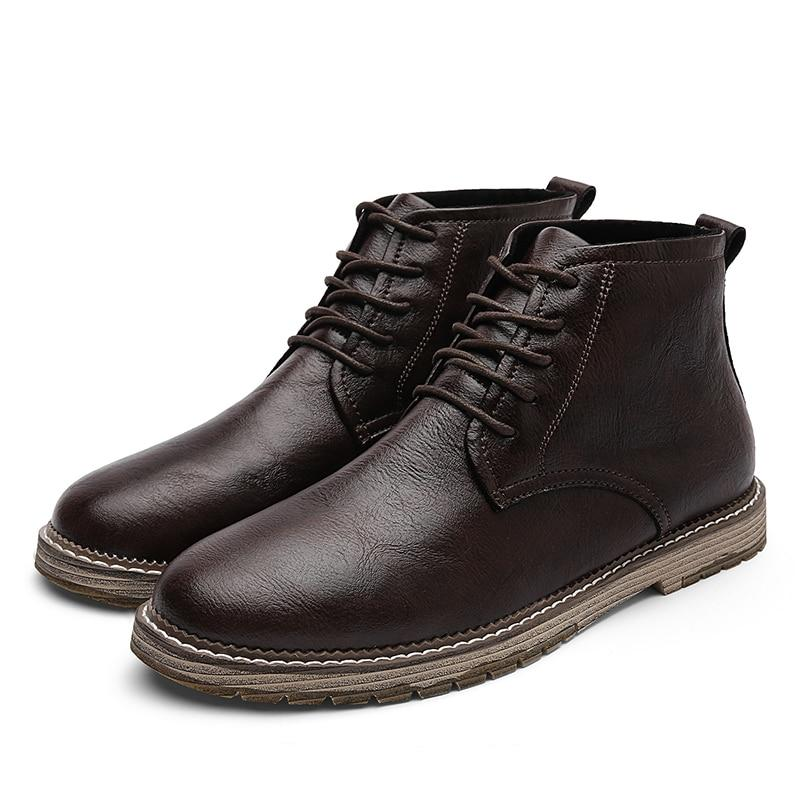 High-Quality Men's Ankle Boots