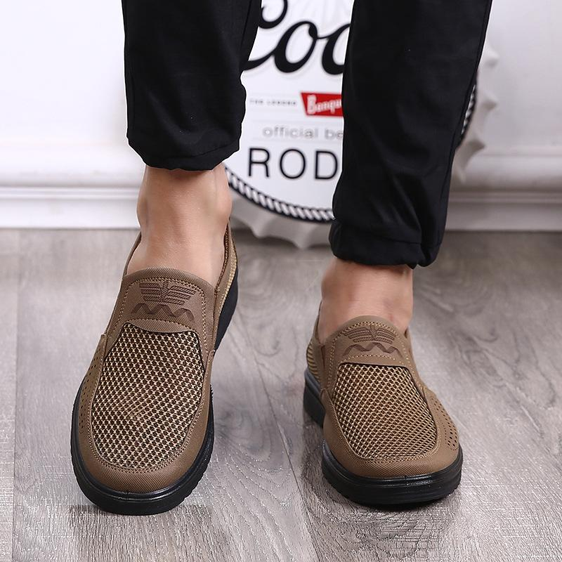 Summer Breathable Slip-On Shoes