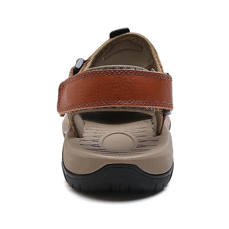 Genuine Leather Beach Men Sandals - Real Deal Buddy