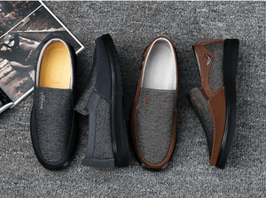 Men's Canvas Flat Casual Shoes - Real Deal Buddy