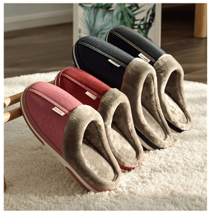 Unisex Warm Winter Indoor Fluffy Slippers