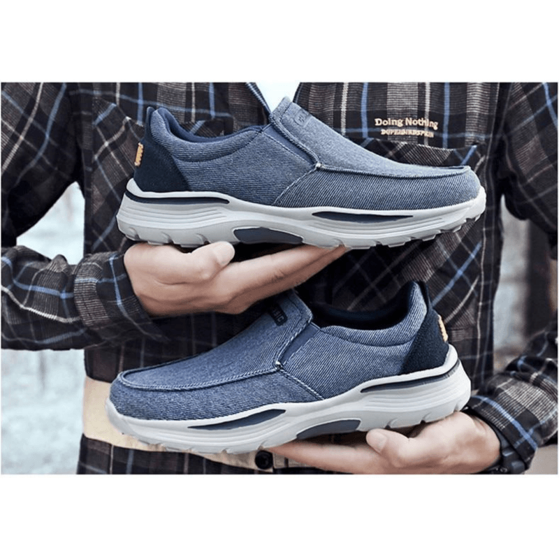 Walk Wear™ - Non-slip Breathable Vulcanized Canvas Shoes
