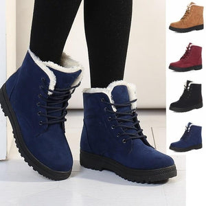 Women's Plush Fur Warm Snow Boots