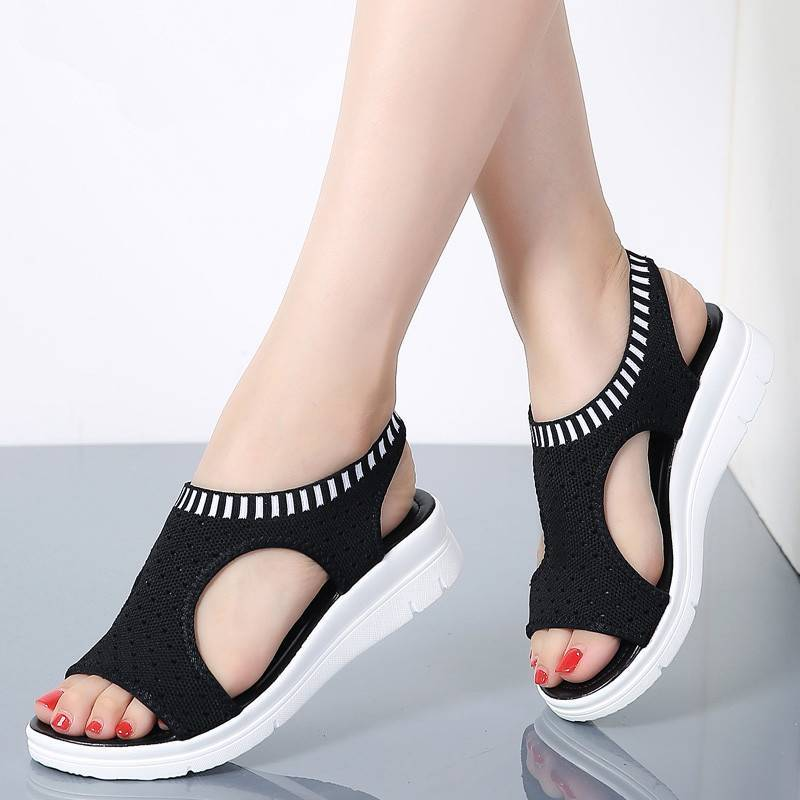 Ladies Breathable Summer Sandals