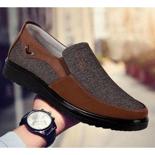 Walk Wear™ - Comfortable Breathable Canvas Shoes