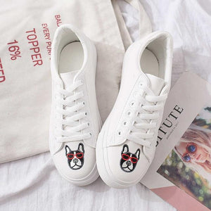 Women's Signature White Sneakers