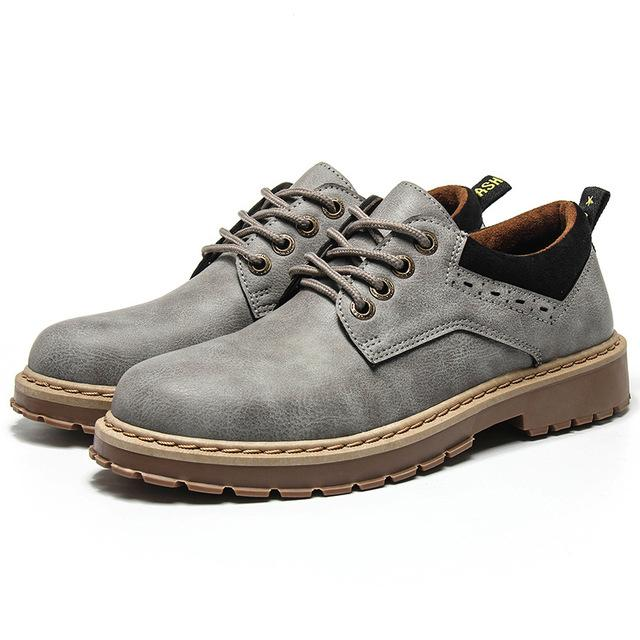 Men Martins Leather Shoes