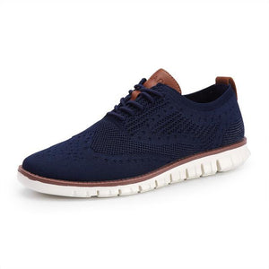 British Lightweight Knitted Dress Shoes - Real Deal Buddy
