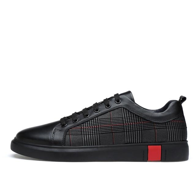 Plaid Cushion Walk Sneakers