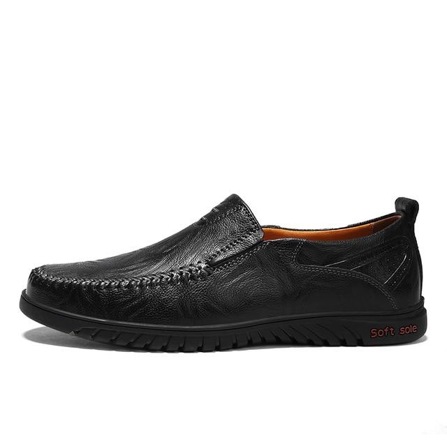Men's Casual Leather Shoes - Real Deal Buddy