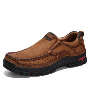 Genuine Leather Hiking Shoes - Real Deal Buddy