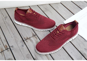 Walk Wear™ - British Lightweight Knitted Dress Shoes