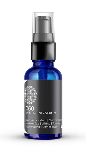 C60 Anti-Aging Serum 30ml Made With Organic Ingredients
