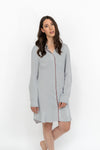 La chemise Mary / The Mary Shirt - Gris pâle / Light grey