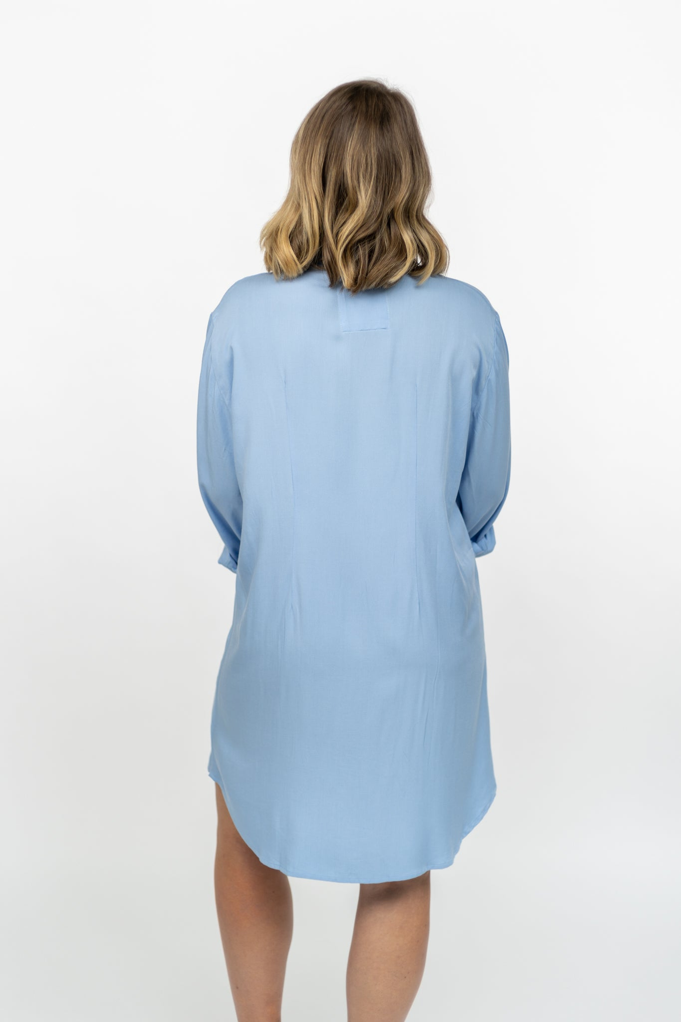 La chemise Mary / The Mary Shirt - Bleu ardoise / Slate blue