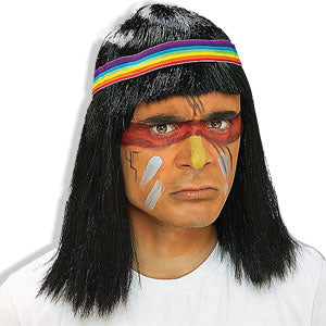 Native American Men's Wig