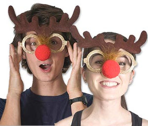 Reindeer Glasses