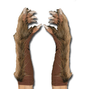 Wolf Hands with Furry Sleeves