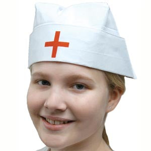 Cross Nurse Hat
