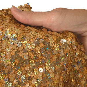Gold Spotlite Sequin 18""
