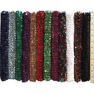 "12"" Sequin Stretch *DS*"