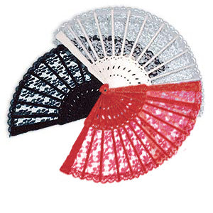 Spanish Lace Fan