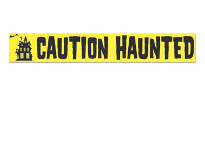 Caution Haunted Tape