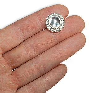 Round Rhinestone Button *DS*