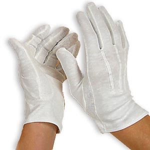 Band Gloves (White)