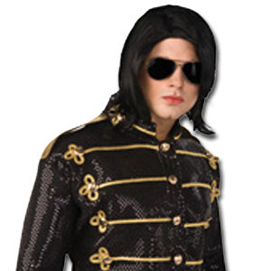 Michael Jackson̫ Wig & Glasses