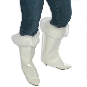 Boot Spats w/Fur