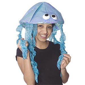 Iridescent Jelly Fish Hat