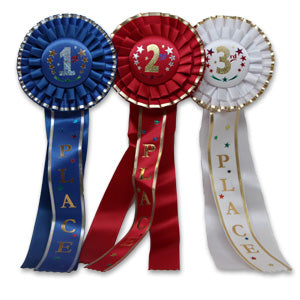 Place Rosette Ribbon